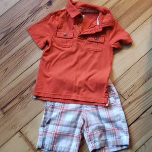3T Old Navy Short/Polo Set